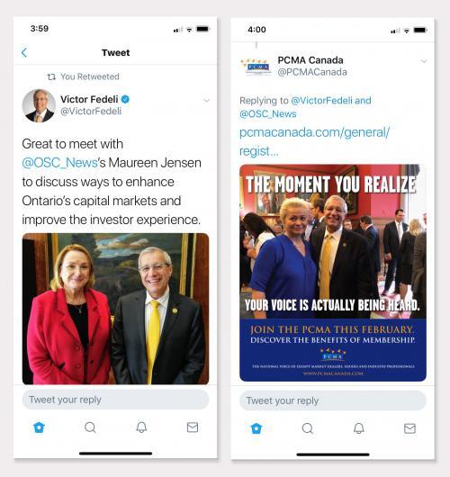 PCMA Fedeli Tweets