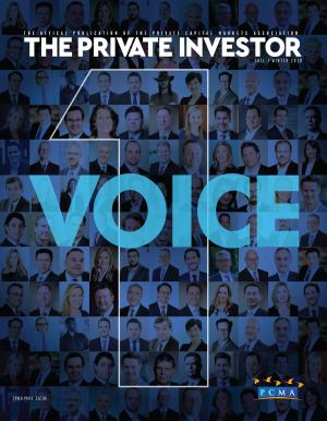 large cover of Private investor magazine